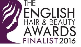 The English Hair & Beauty Awards 2016 - FINALIST BADGE